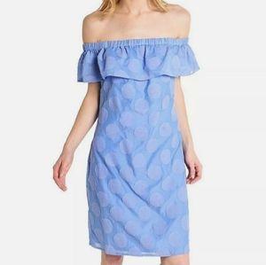 Sail To Sable Hydrangea Flounce Dress Size XL